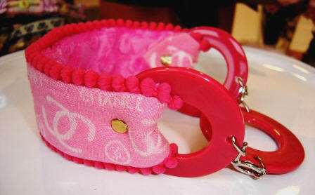 Fifiany & Co. Chanel Designer Pet Collars for Cats and Dogs